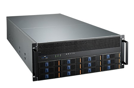 Advantech SKY-6420 GPU-Server 10xPCIe x16 dubbelslot kaarten